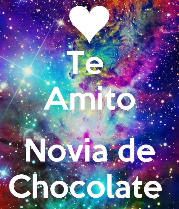 Te  Amito  Novia de Chocolate