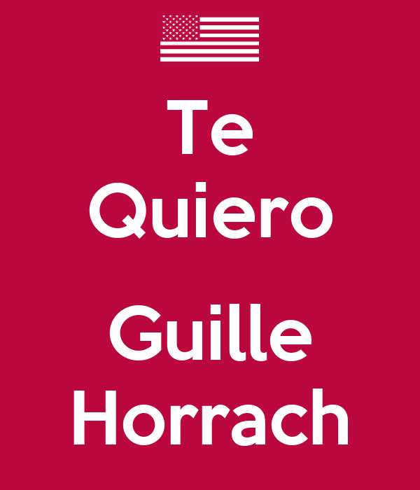 Te Quiero  Guille Horrach