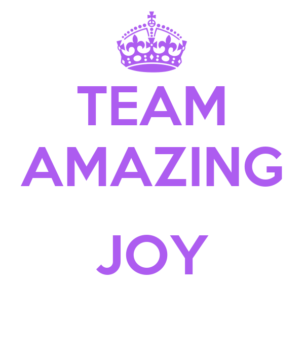 TEAM AMAZING  JOY