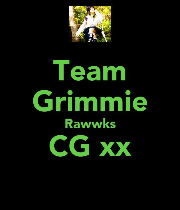 Team Grimmie Rawwks CG xx