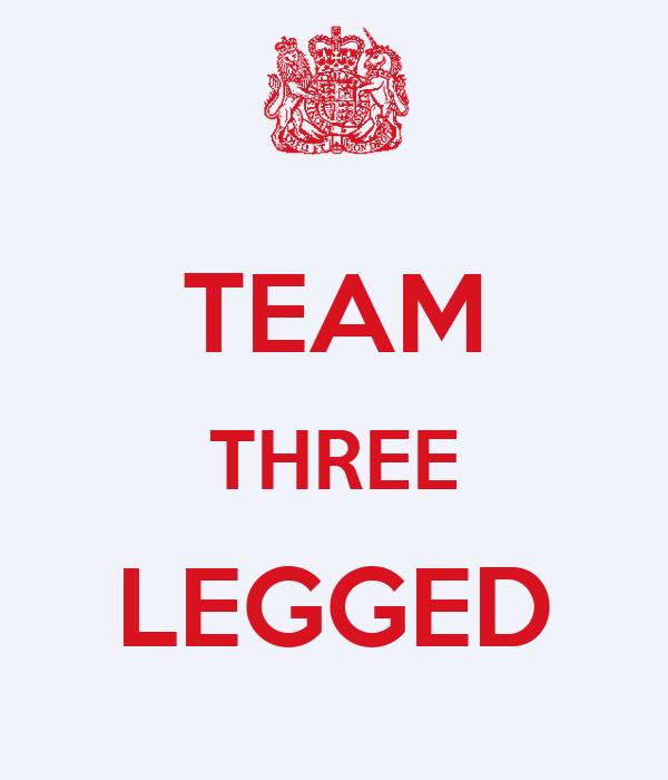 TEAM THREE LEGGED