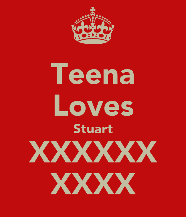 Teena Loves Stuart XXXXXX XXXX