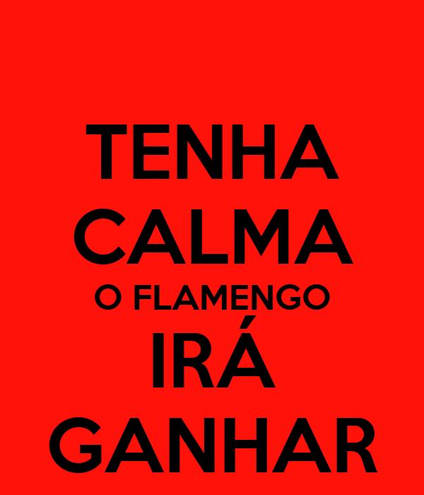 TENHA CALMA O FLAMENGO IRÁ GANHAR