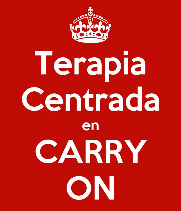 Terapia Centrada en CARRY ON