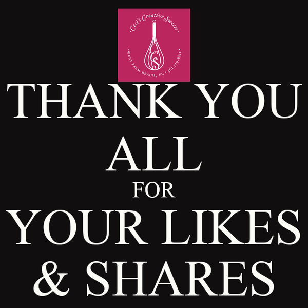 THANK YOU ALL FOR YOUR LIKES & SHARES