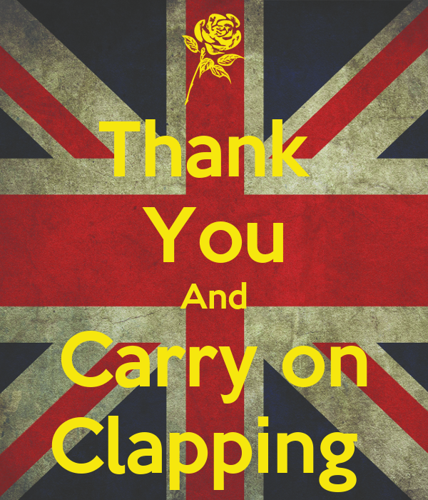 Thank  You And Carry on Clapping
