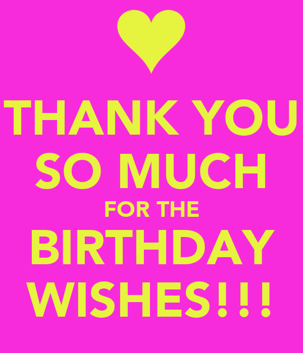 Thank you so much for the birthday wishes poster macarena thank you so much for the birthday wishes m4hsunfo