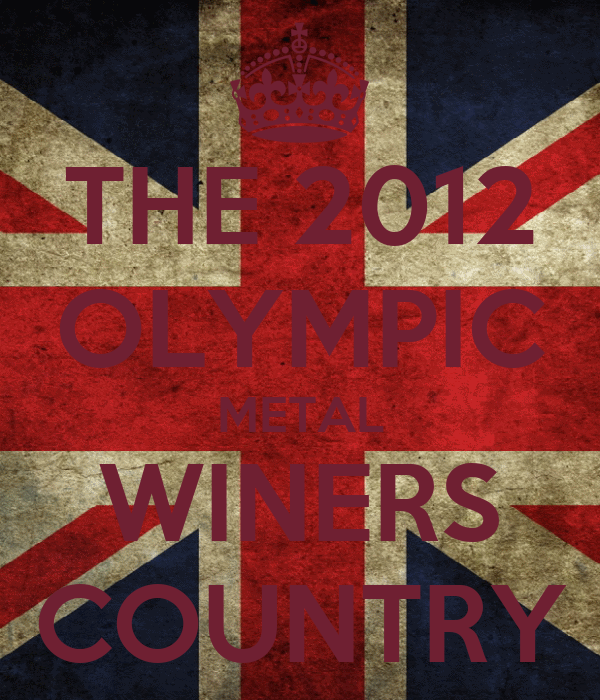THE 2012 OLYMPIC METAL WINERS COUNTRY
