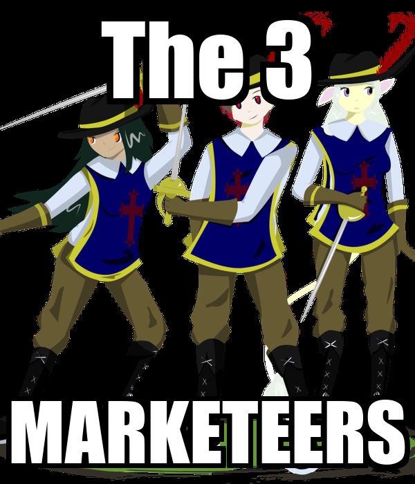 The 3 MARKETEERS