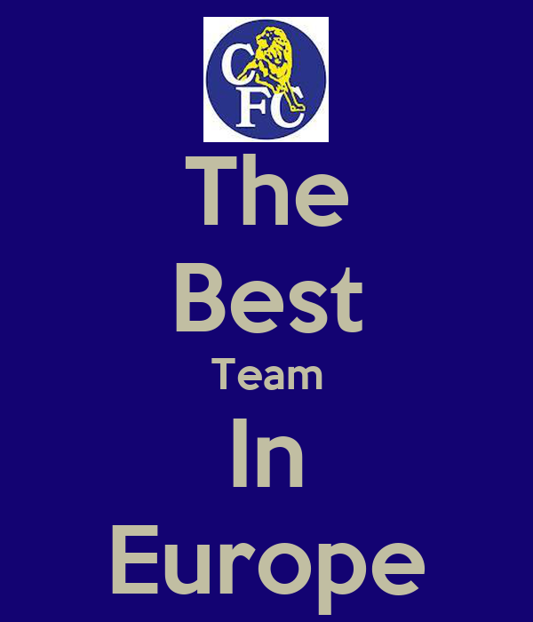 The Best Team In Europe
