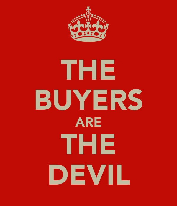 THE BUYERS ARE THE DEVIL