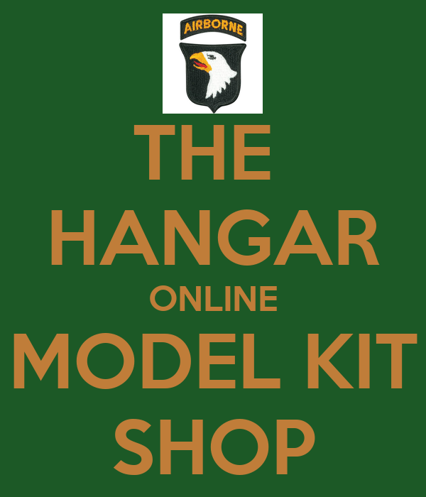 THE  HANGAR ONLINE MODEL KIT SHOP