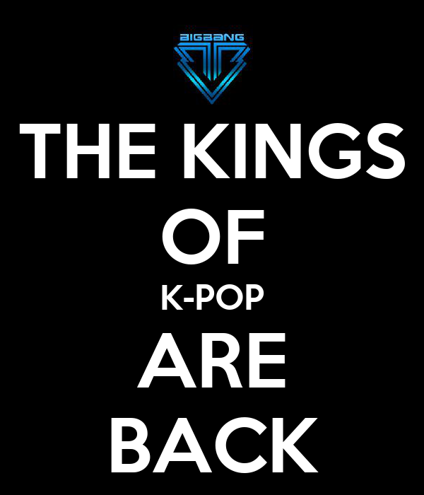 THE KINGS OF K-POP ARE BACK