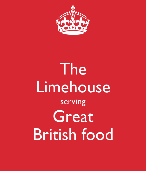 The Limehouse serving Great British food