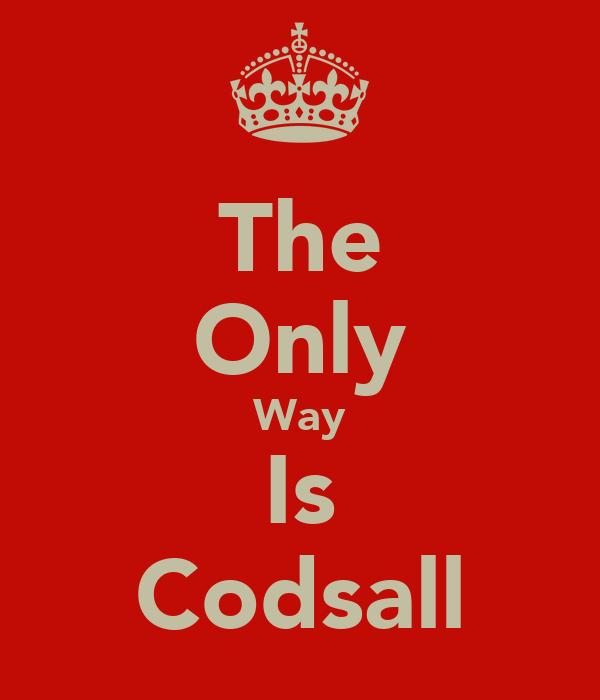 The Only Way Is Codsall