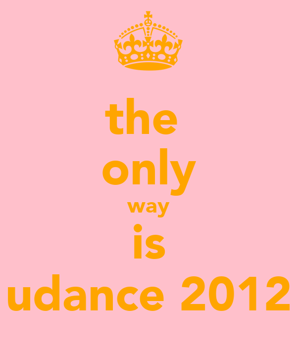 the  only way is udance 2012