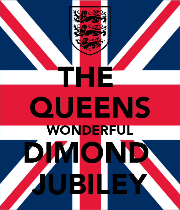 THE  QUEENS WONDERFUL DIMOND  JUBILEY