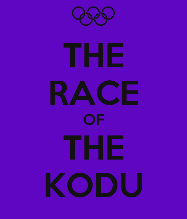THE RACE OF THE KODU