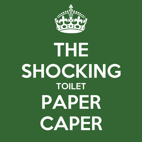 THE SHOCKING TOILET PAPER CAPER