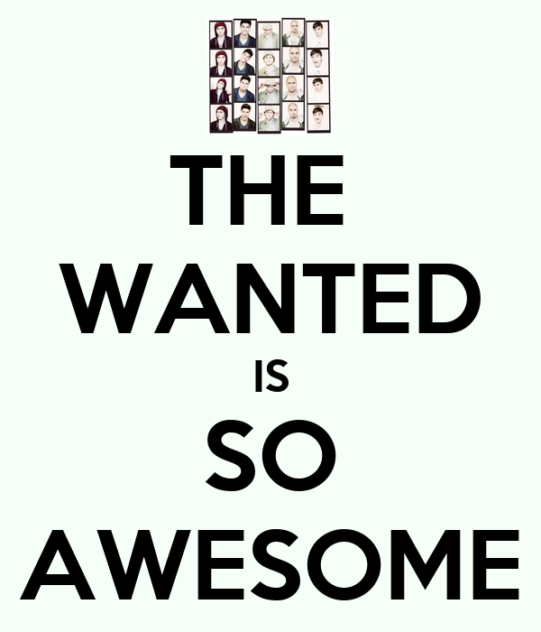 THE  WANTED IS SO AWESOME