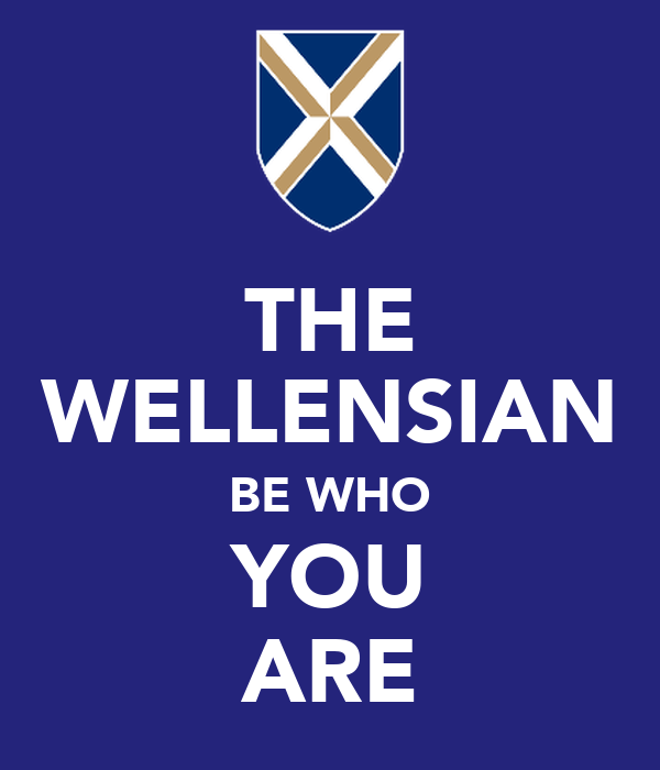 THE WELLENSIAN BE WHO YOU ARE