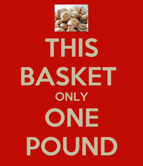 THIS BASKET  ONLY ONE POUND