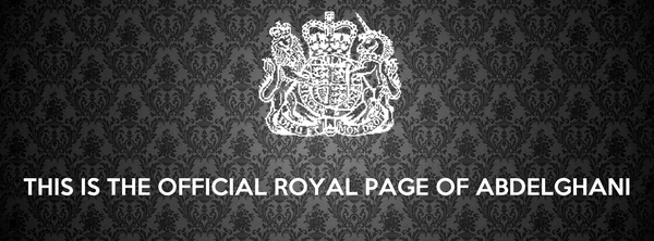 THIS IS THE OFFICIAL ROYAL PAGE OF ABDELGHANI