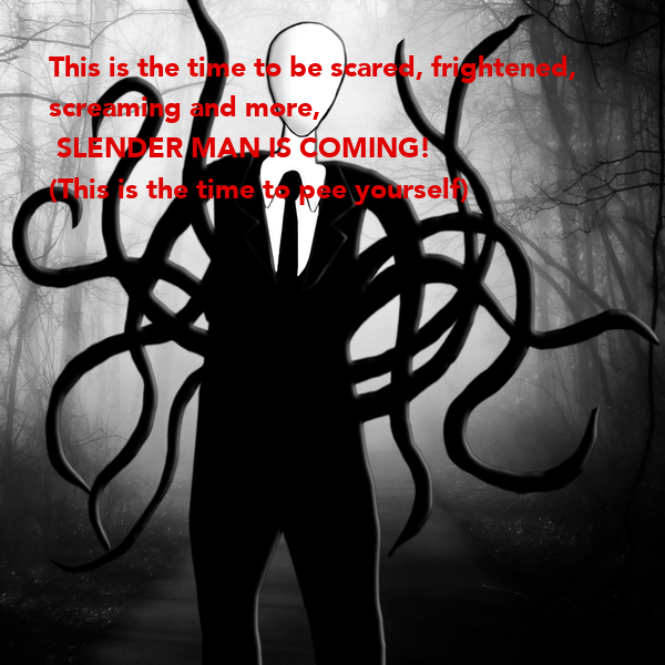 This is the time to be scared, frightened, 