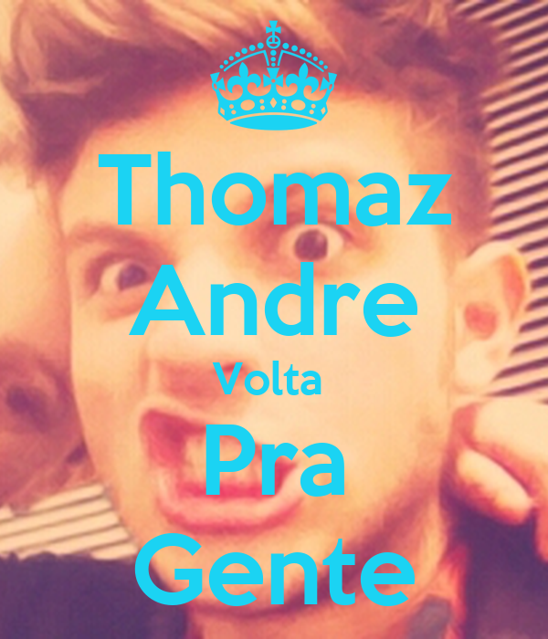Thomaz Andre Volta  Pra Gente