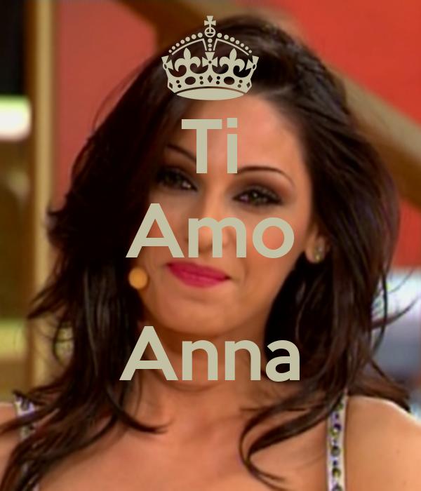 Ti Amo  Anna