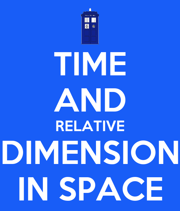 Time and relative dimension in space poster xantron for Dimensions of space and time