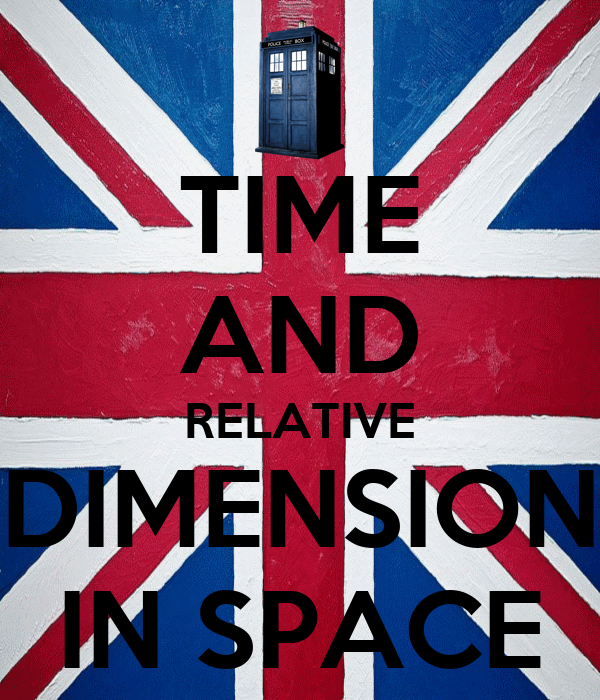 Time and relative dimension in space poster i 39 mabelieber for Dimensions of space and time