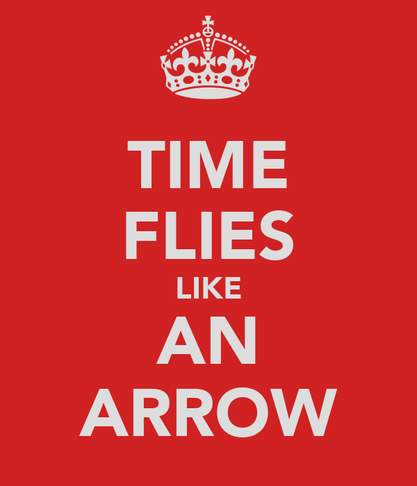 TIME FLIES LIKE AN ARROW