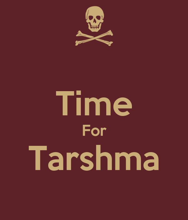 Time For Tarshma