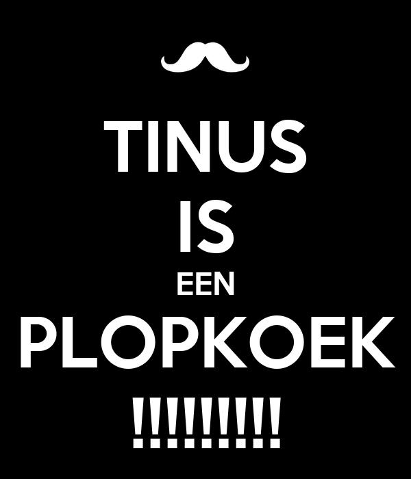 TINUS IS EEN PLOPKOEK !!!!!!!!!