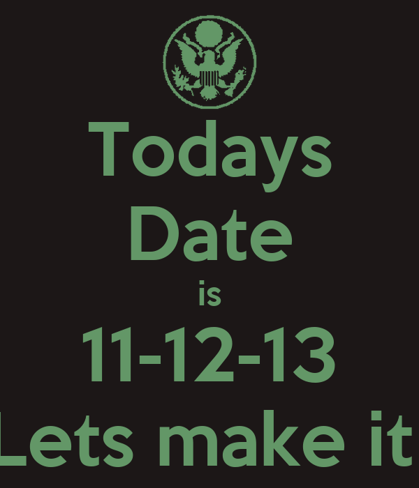 Whats todays date