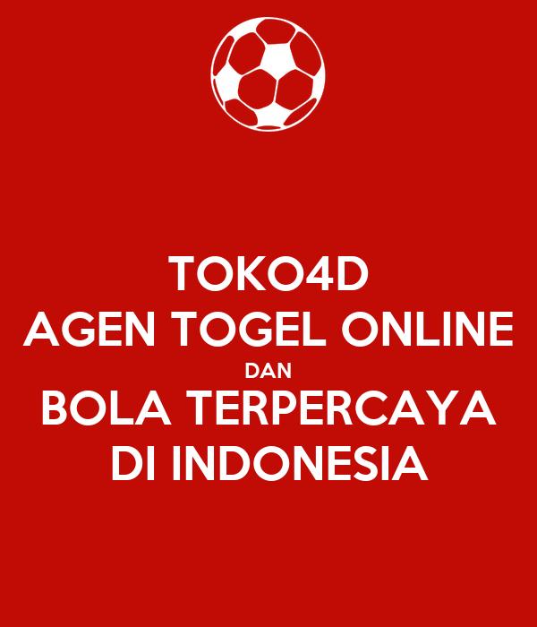 TOKO4D AGEN TOGEL ONLINE DAN BOLA TERPERCAYA DI INDONESIA