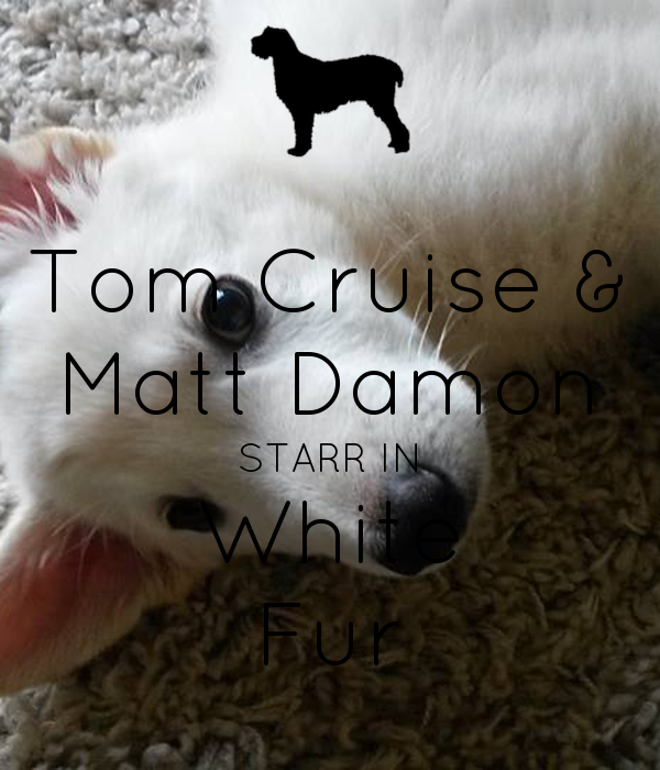 Tom Cruise & Matt Damon STARR IN White Fur