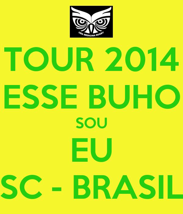 TOUR 2014 ESSE BUHO SOU EU SC - BRASIL
