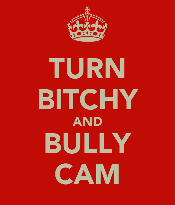 TURN BITCHY AND BULLY CAM
