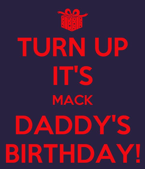 daddys turn