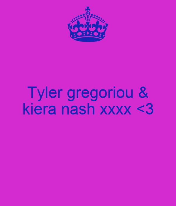 Tyler gregoriou & kiera nash xxxx <3