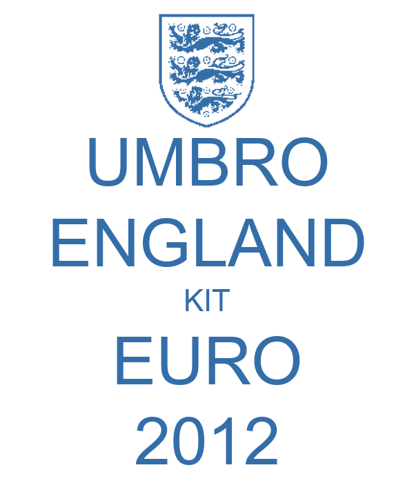 UMBRO ENGLAND KIT EURO 2012