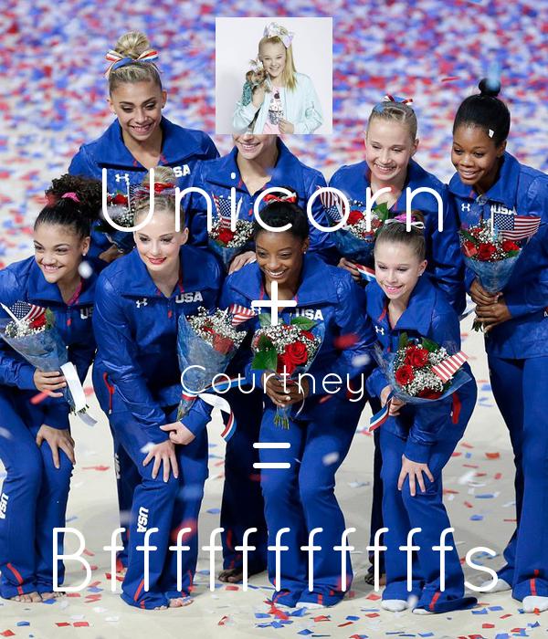 Unicorn + Courtney = Bfffffffffffs