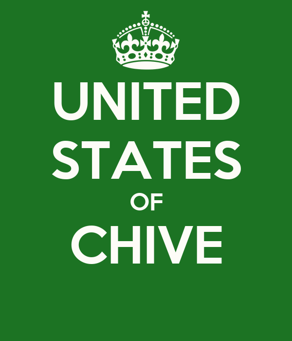 UNITED STATES OF CHIVE