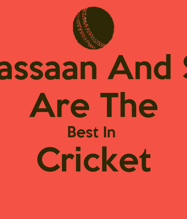 Usman Hassaan And Salmaan   Are The Best In  Cricket
