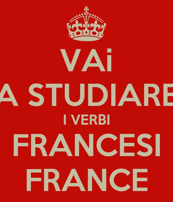 VAi A STUDIARE I VERBI FRANCESI FRANCE