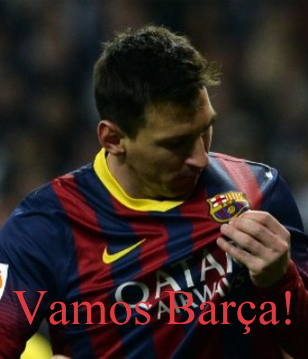 Vamos Barça!
