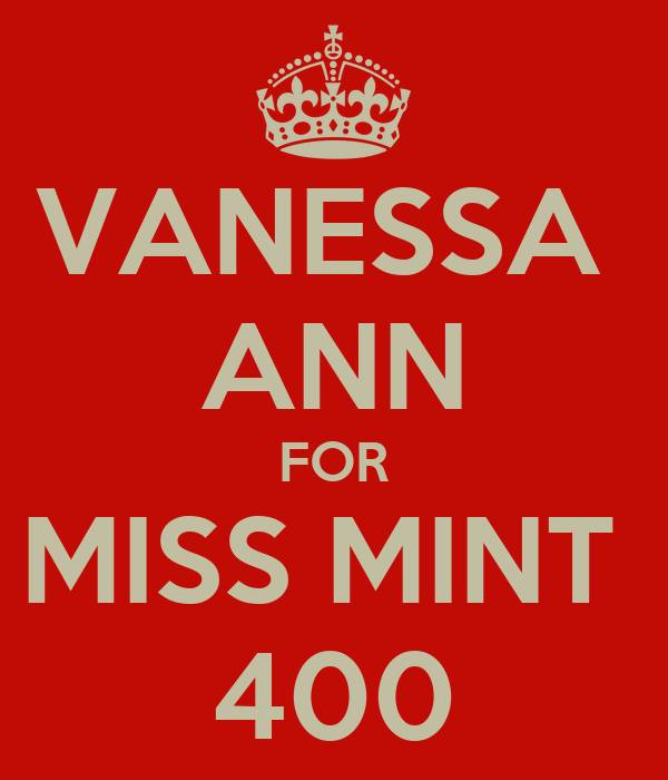 VANESSA  ANN FOR MISS MINT  400