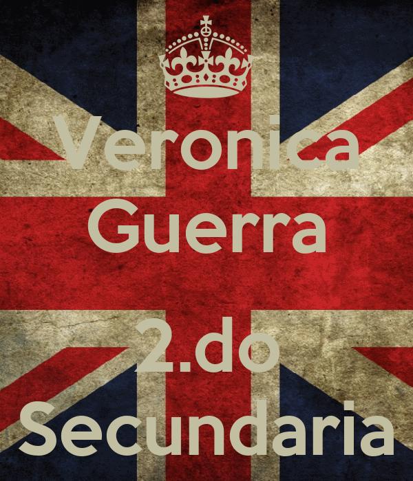 Veronica Guerra  2.do Secundaria